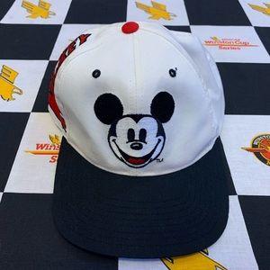 Vintage Disney Mickey Mouse Snapback Hat 90s